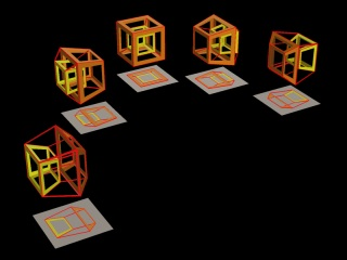 A Rotation of Cubes [320×240 JPEG]